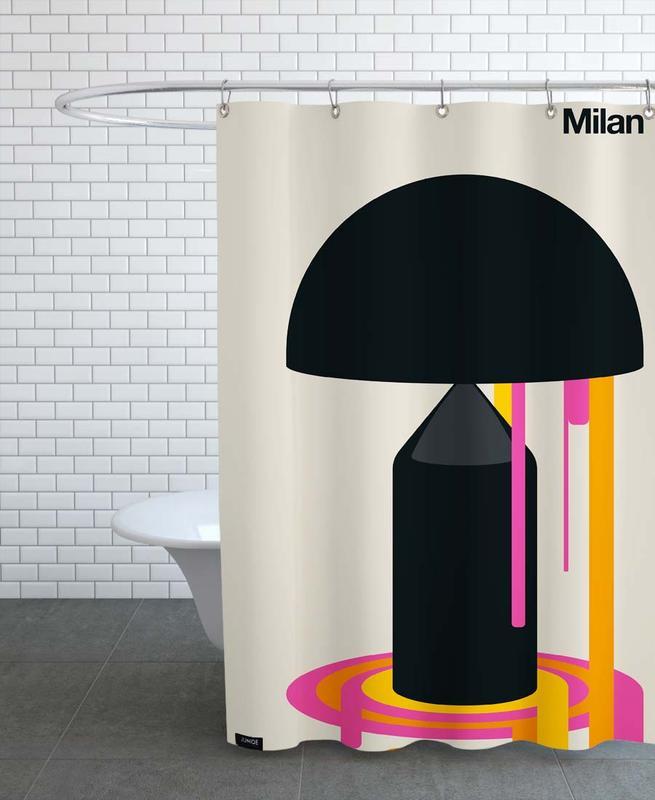 Milan 77 Shower Curtain
