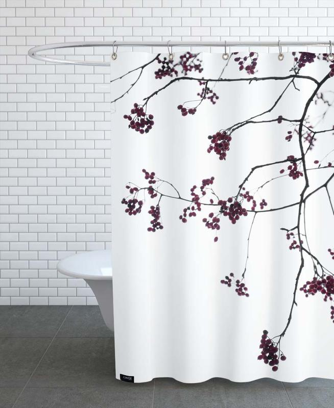 Birds Happy Place Shower Curtain