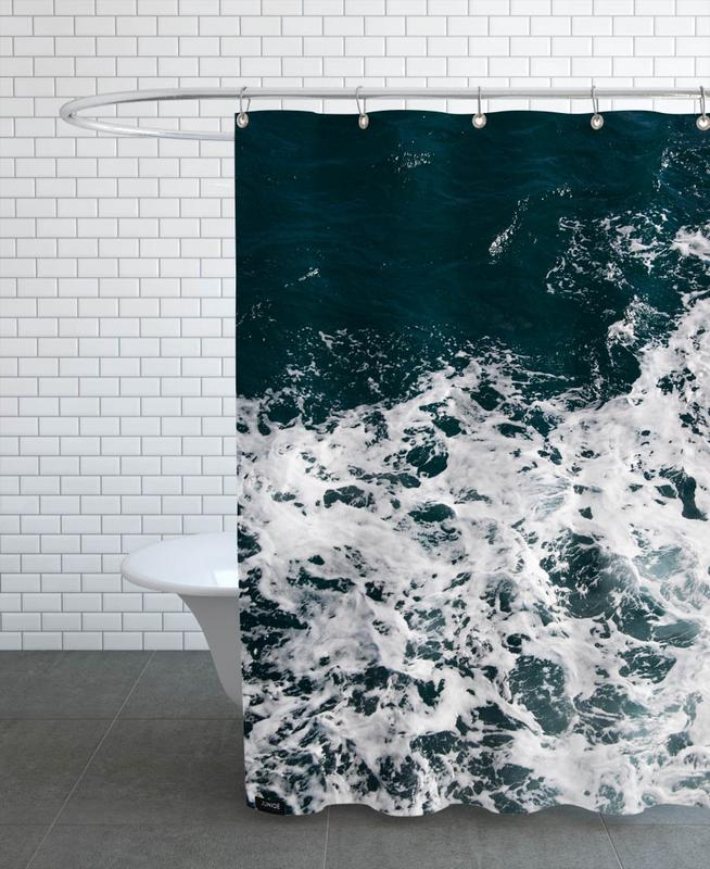 Waves & Water Shower Curtain