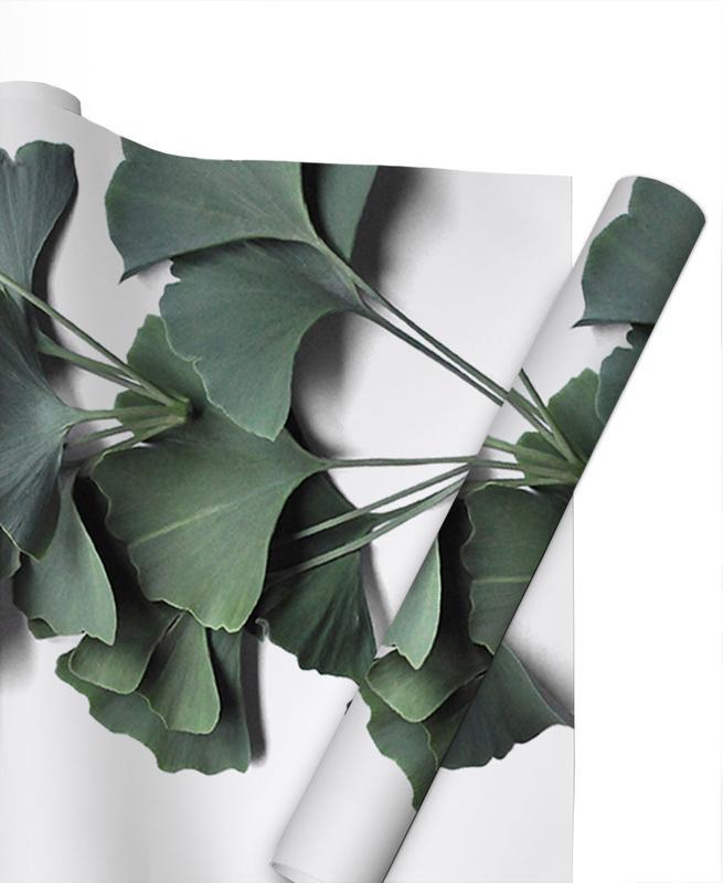Leaves & Plants, Ginko Biloba Gift Wrap