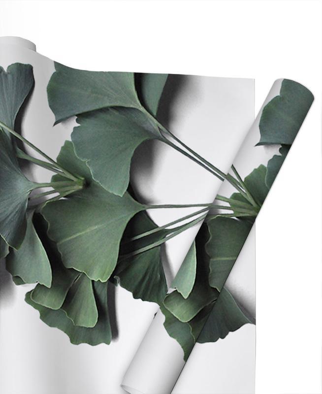 Feuilles & Plantes, Ginko Biloba papier cadeau