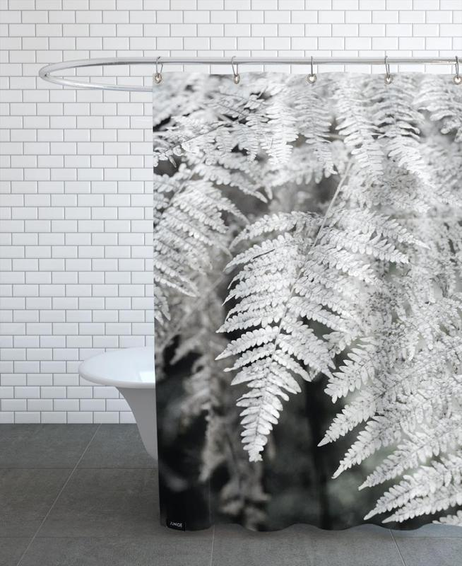 Let´s Dive Into Fern Shower Curtain