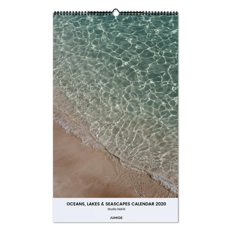 Oceans, Lakes & Seascapes Calendar 2020 - Studio Nahili Wall Calendar