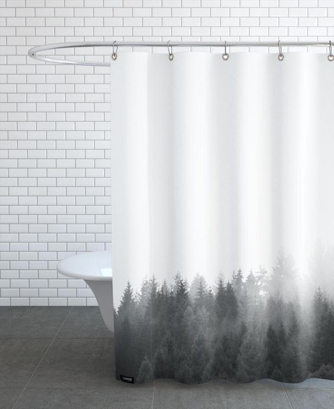 Walk Through The Forest Shower Curtain