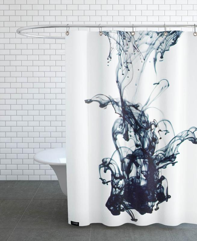 Sudden Movement Shower Curtain