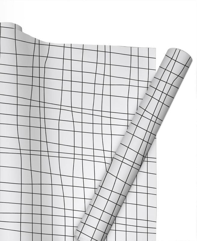 Grid -Geschenkpapier