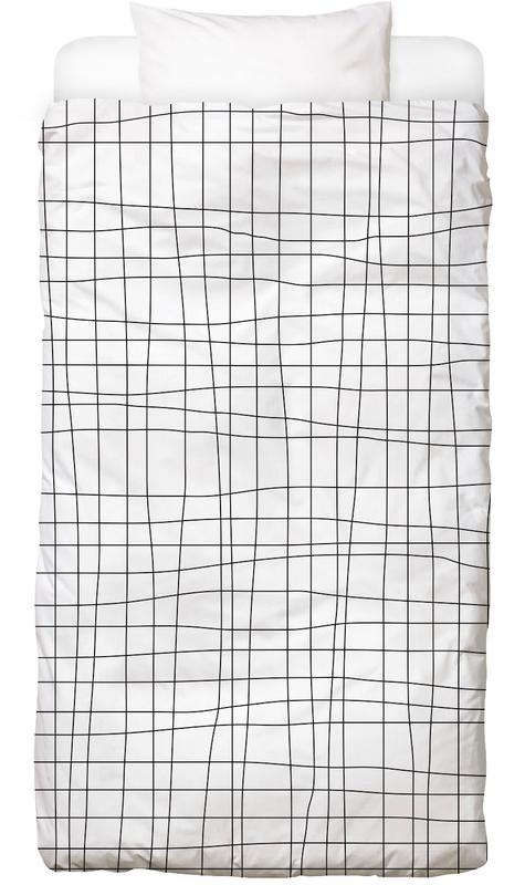 Grid Bed Linen
