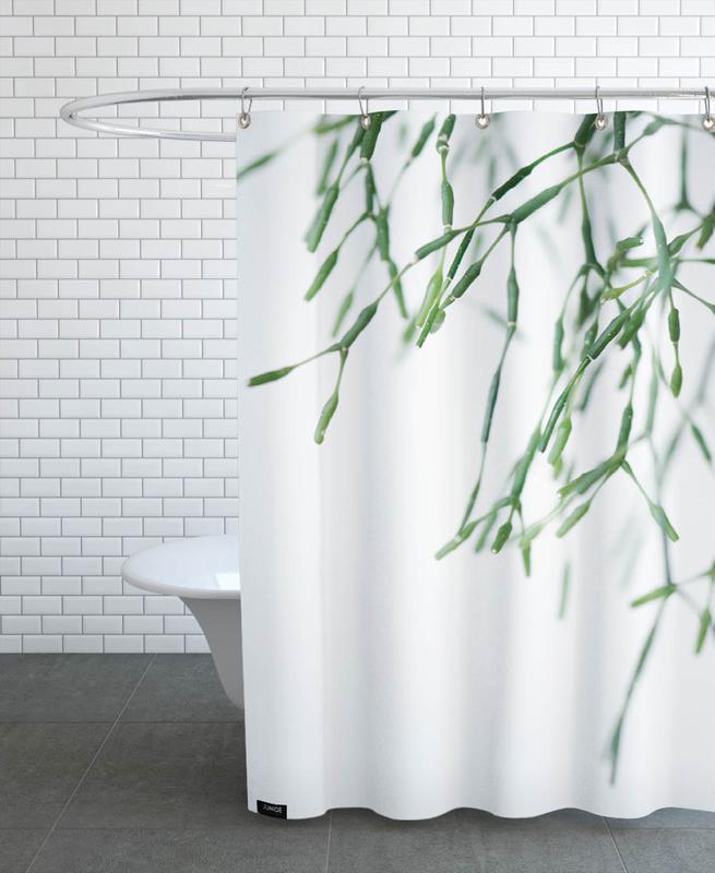 Geo Plant -Duschvorhang