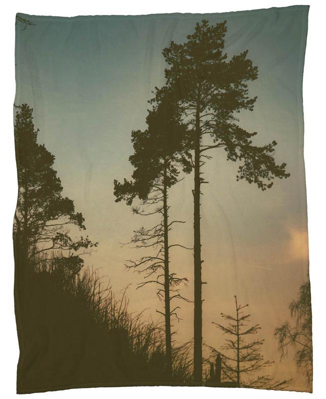 The Forest II Fleece Blanket