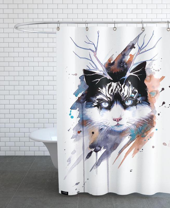 Katzen, Cat -Duschvorhang