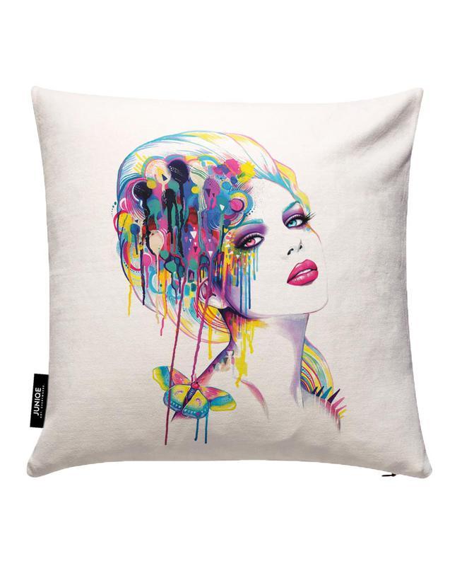 Color Portrait Cushion Cover