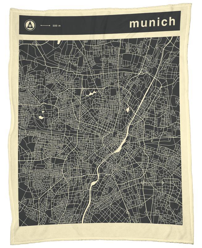 City Maps Series 3 Series 3 - Munich plaid