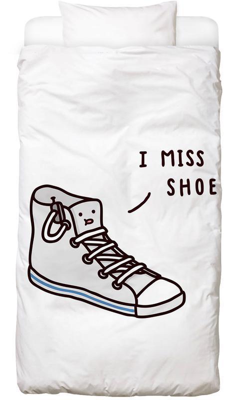 I Miss Shoe Kids' Bedding