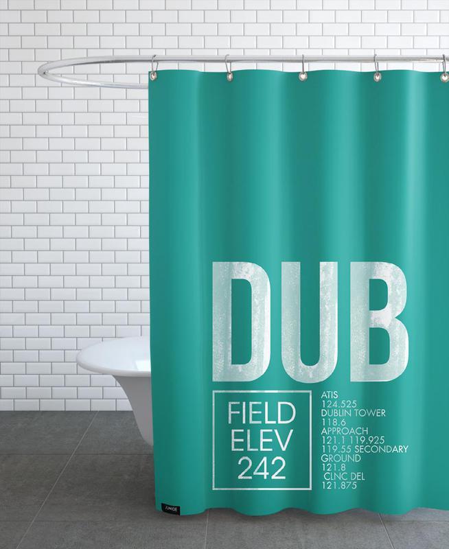 Dublin, DUB Dublin douchegordijn