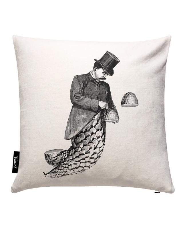 Coat Tails Cushion Cover