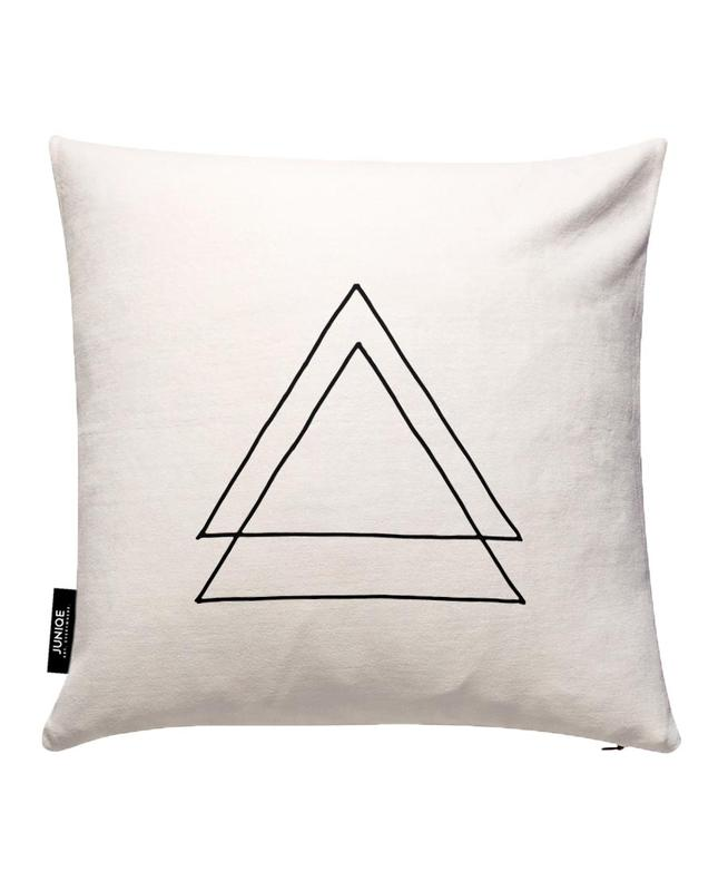 Triangles Cushion Cover