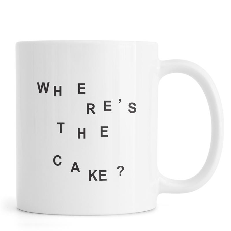 wheres the cake Mug