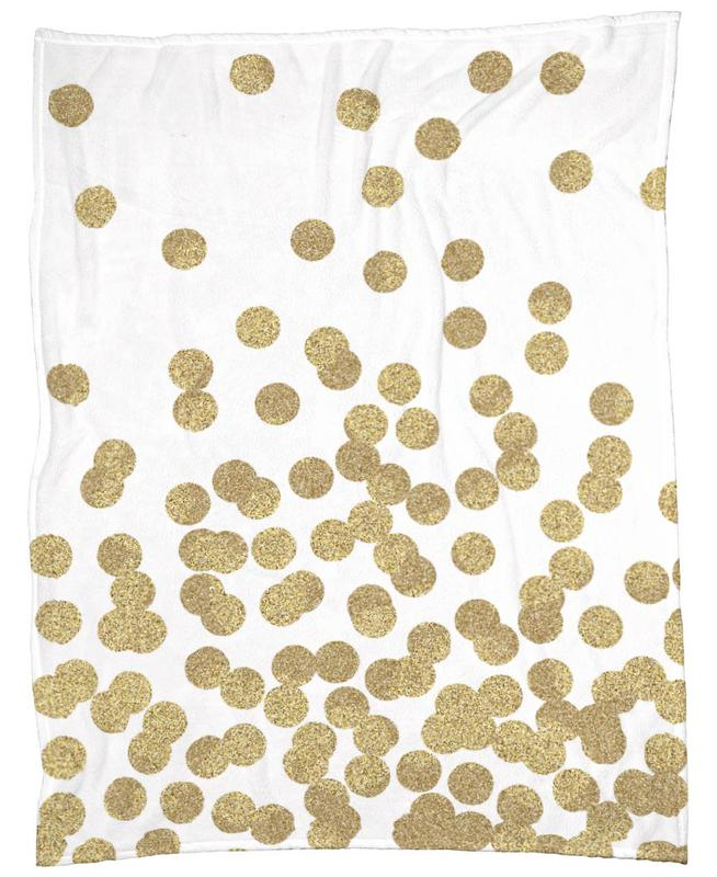 Gold Glitter plaid