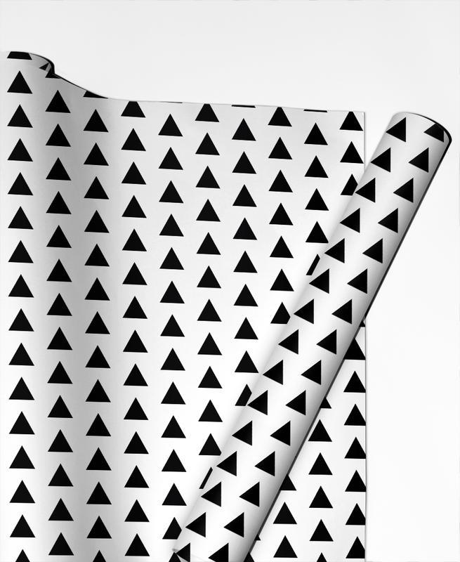 Black and White -Geschenkpapier