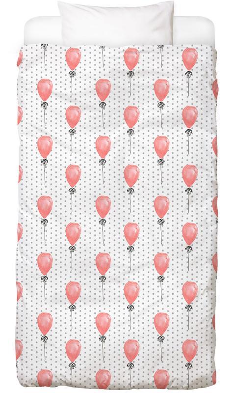 Verjaardagen, Felicitaties, Kunst voor kinderen, Pasgeborenen, Balloons kinderbeddengoed