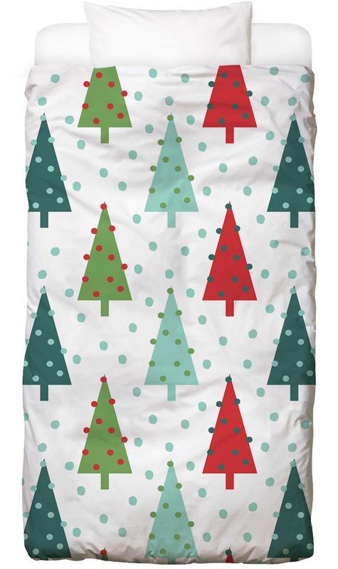 Kerst, Christmas Tree kinderbeddengoed