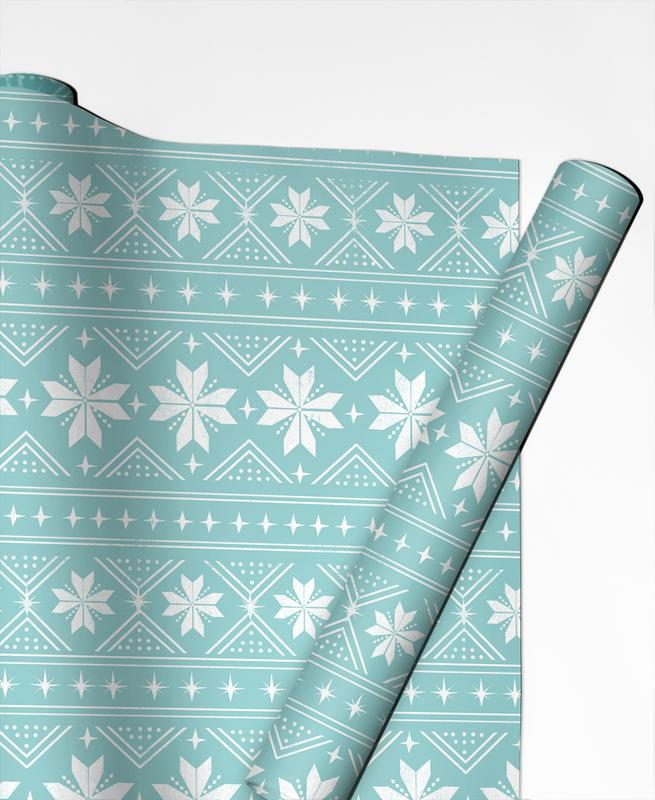 Noël, Christmas Sweater papier cadeau