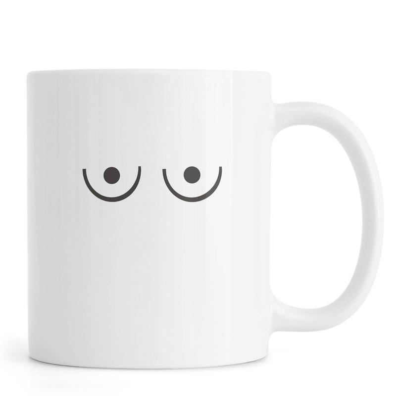 Noir & blanc, Détails corporels, Ariadne mug