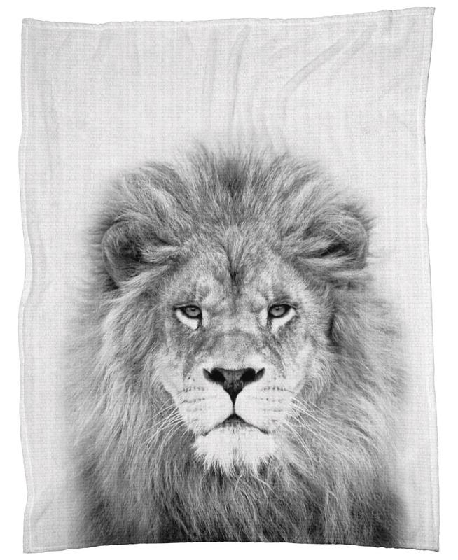 Lion -Fleecedecke