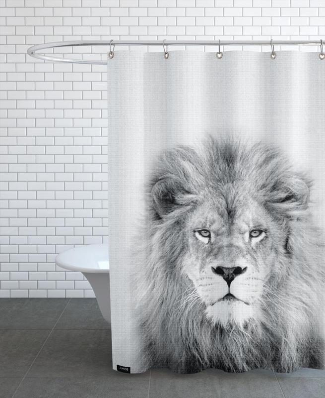 Lion -Duschvorhang
