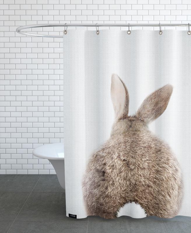 Lapins, Art pour enfants, Print 317 rideau de douche