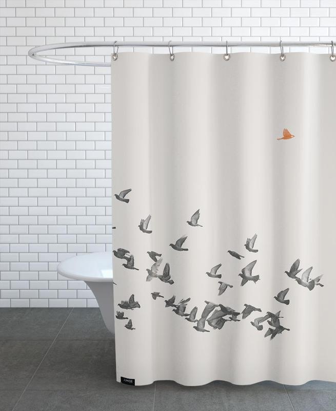 Bird And Birds -Duschvorhang
