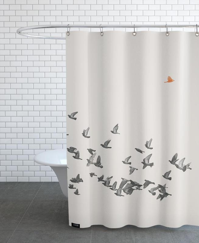 Bird And Birds Shower Curtain