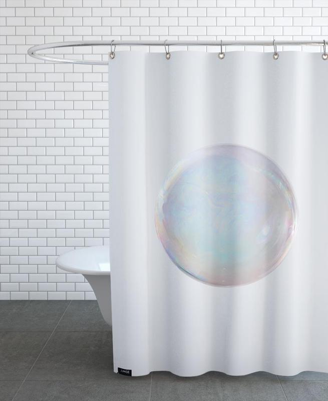 Seifenblase -Duschvorhang