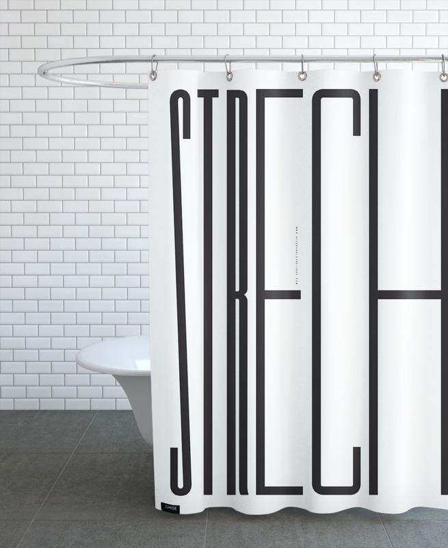 Strech Shower Curtain