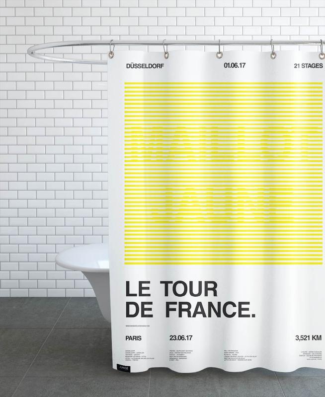 Maillot Jaune Shower Curtain