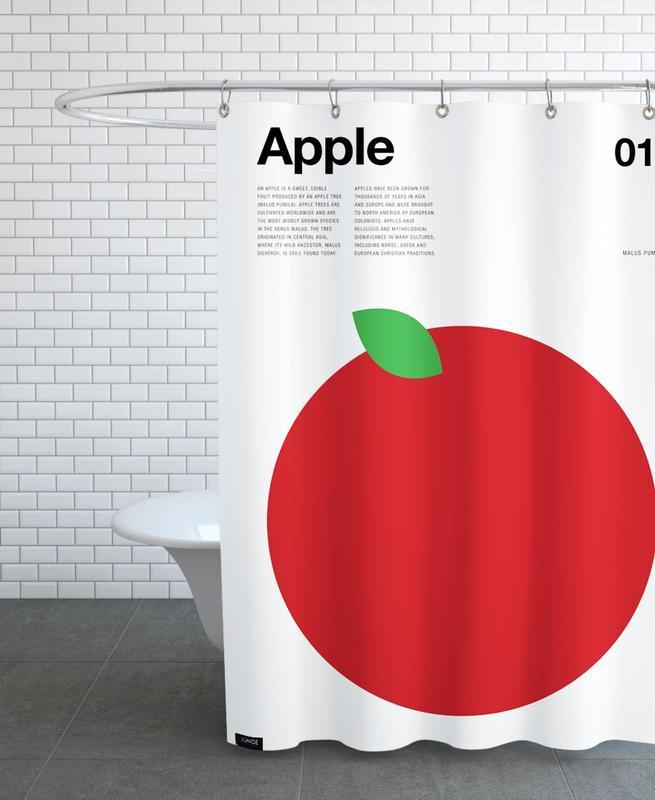 Apple -Duschvorhang