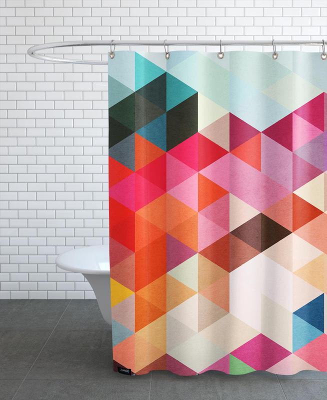 Heavy Words Shower Curtain