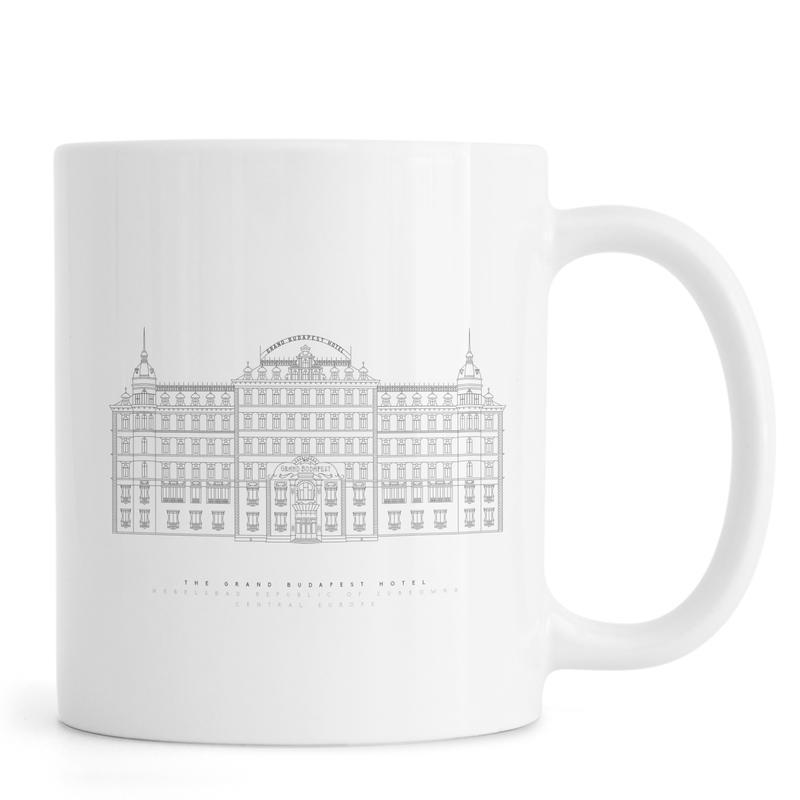 Films, Grand Budapest Hotel mug