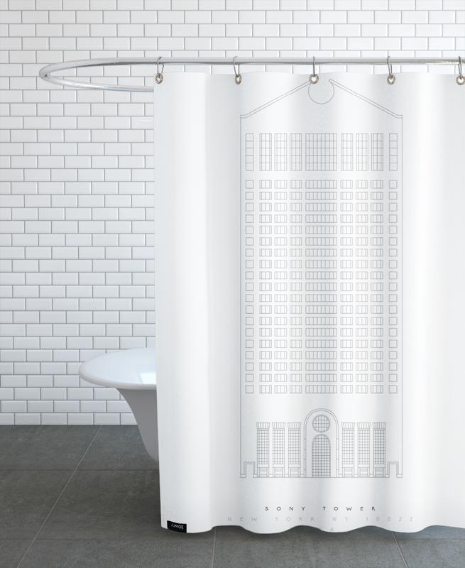 Gratte-ciels, Monuments et vues, The Sony Building rideau de douche