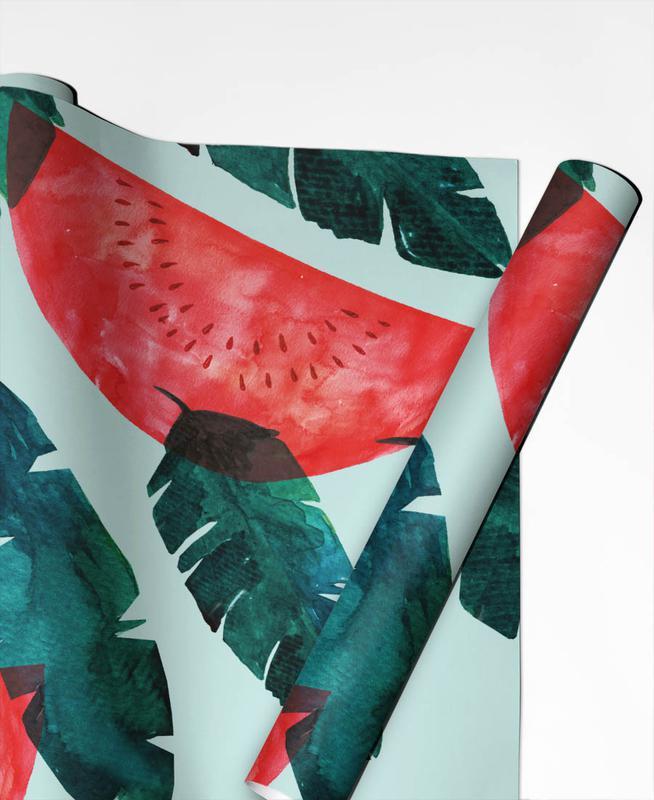 Melon Pattern Gift Wrap