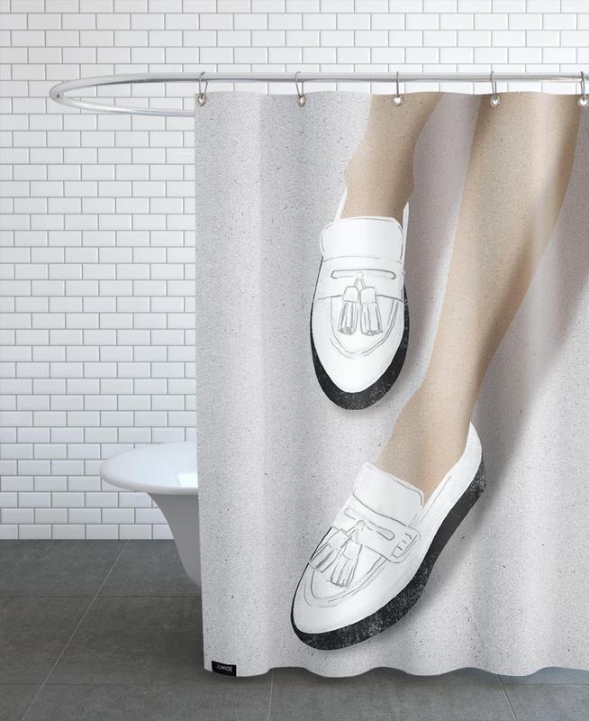 Fashion Illustrations, Legs & Shoes 2 Shower Curtain