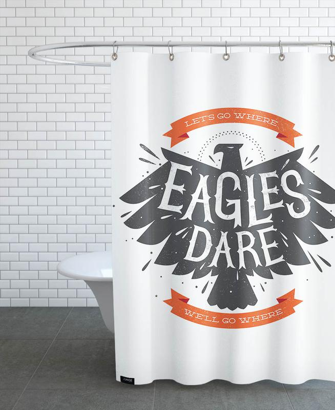 Eagles, Quotes & Slogans, Eagles Shower Curtain