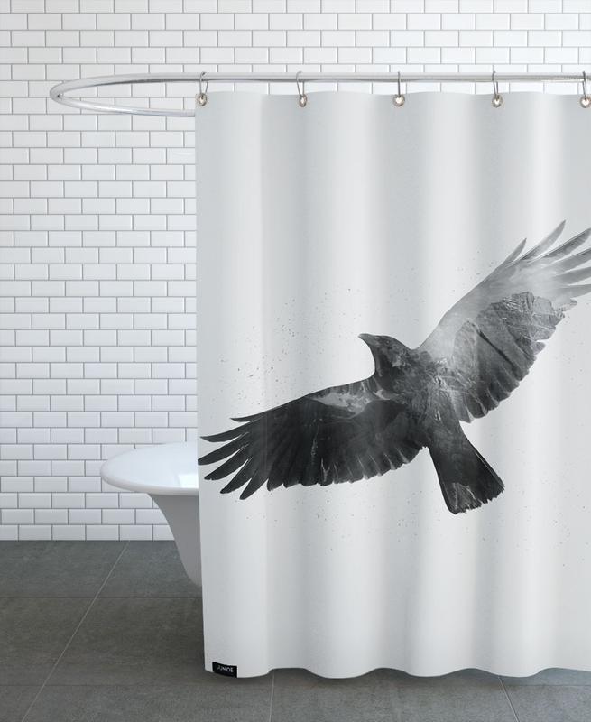 High -Duschvorhang