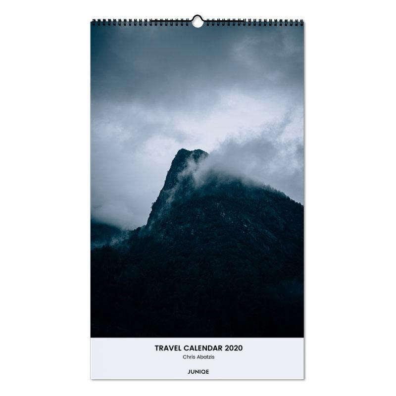 Travel Calendar 2020 - Chris Abatzis -Wandkalender