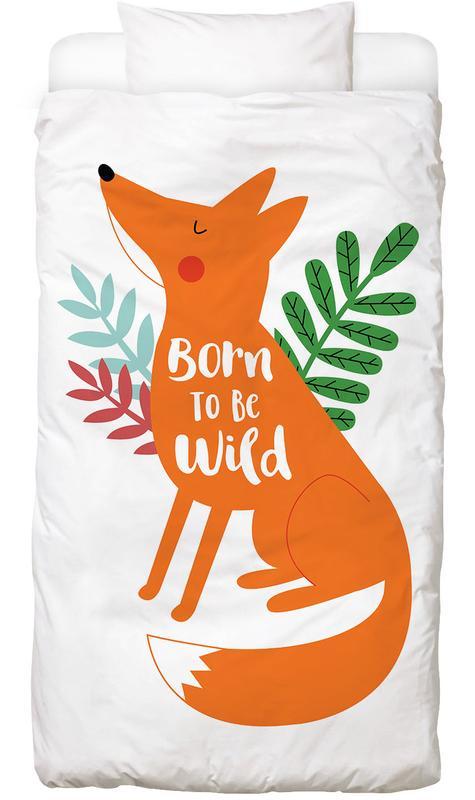 Born to Be Wild Fox Bettwäsche