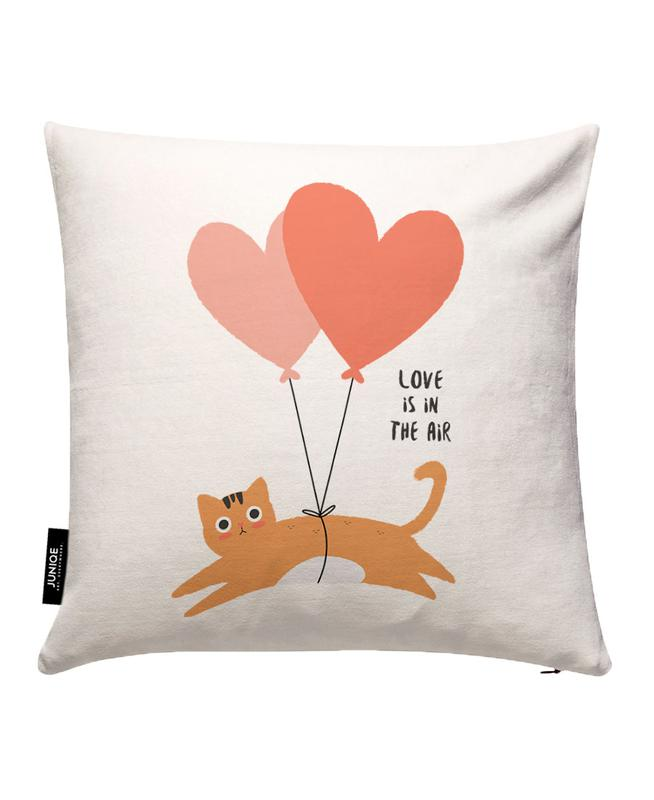 Love Is in the Air Cushion Cover