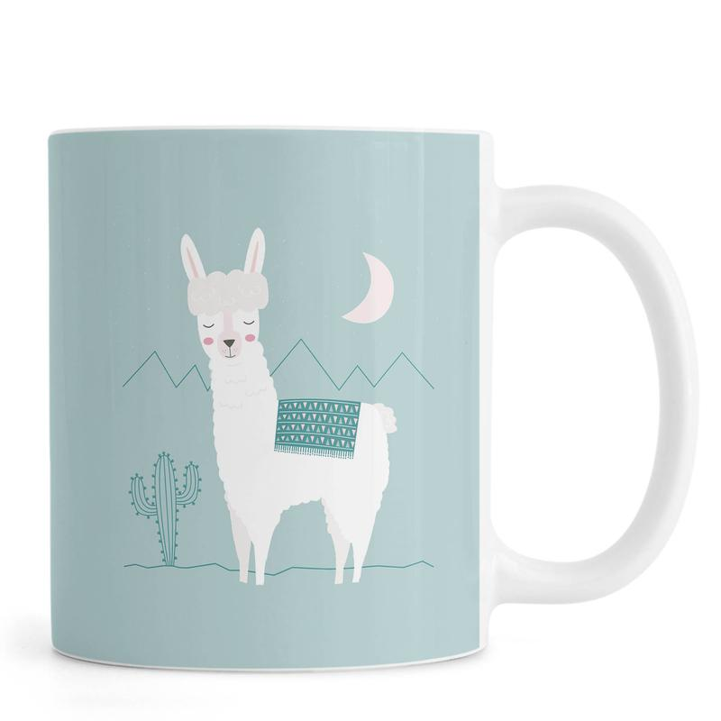 Alpaca In The Mountains -Tasse