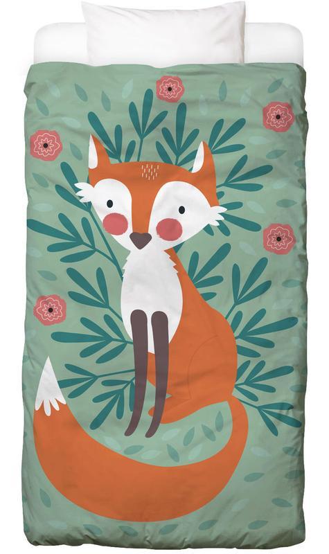 Fox In The Woods -Kinderbettwäsche