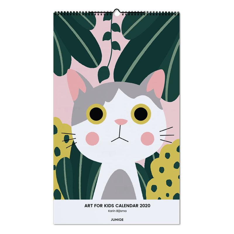 Art For Kids Calendar 2020 - Karin Bijlsma -Wandkalender
