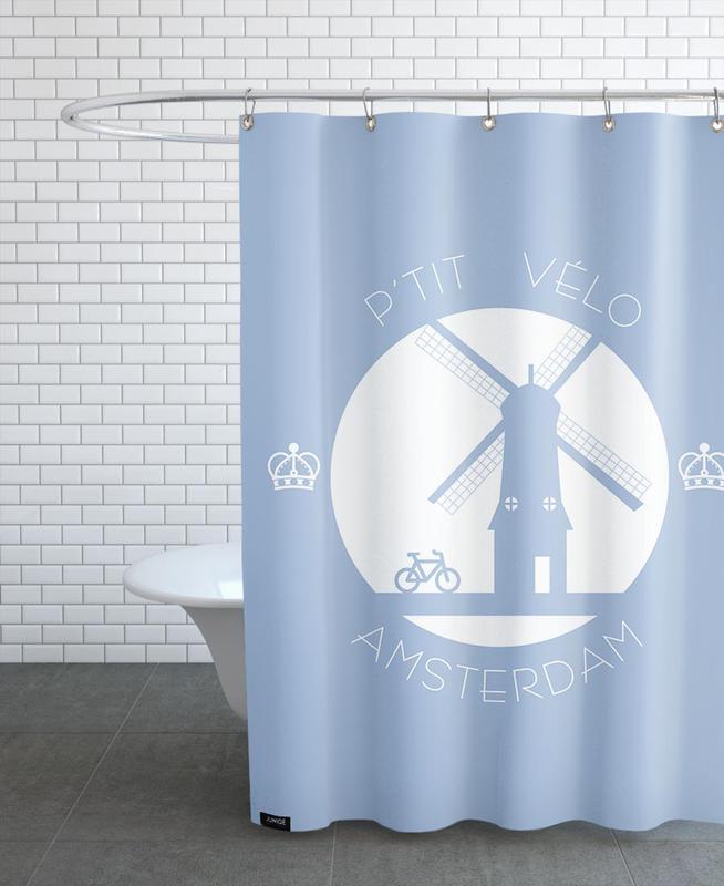Amsterdam, Amsterdam bleu rideau de douche